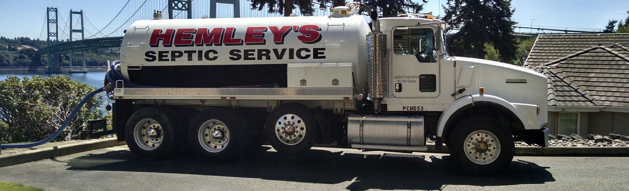 Hemley's Septic: Septic Services Port Orchard, Gig Harbor, WA