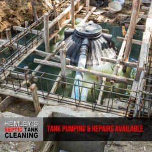 Septic Tank pumping and repair